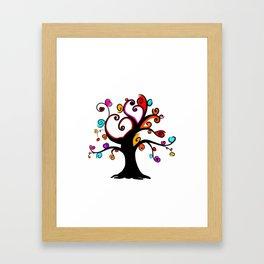 Love Blossoms - Spring burst Framed Art Print
