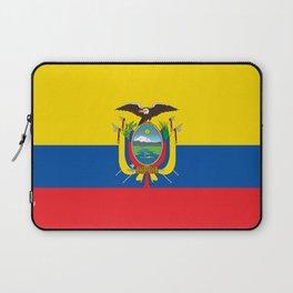 Ecuador Flag Laptop Sleeve