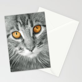 MONO KITTEN Stationery Cards