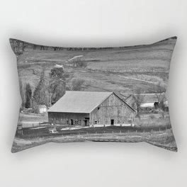 Barn In The Valley Rectangular Pillow