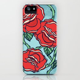 Growing Roses iPhone Case