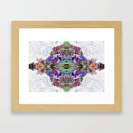 Psycho Exotic, The Thai Flowers Framed Art Print