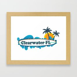 Clearwater Beach - Florida. Framed Art Print