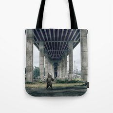 Bear sighting Tote Bag