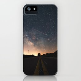 Milky Way, Luddington, Micghian iPhone Case