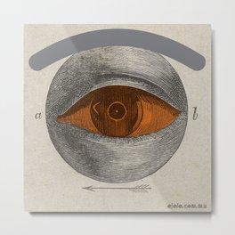 eye.saac weissenbruch Metal Print