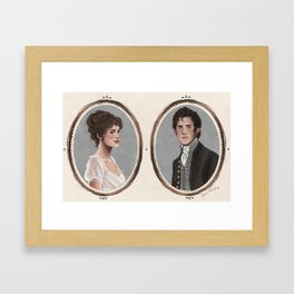 Pride and Prejudice Framed Art Print