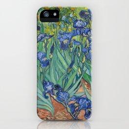 "Vincent Van Gogh ""Irises"" iPhone Case"