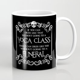 Necromancer Line: Funeral Coffee Mug