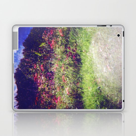 Flowers Plastic Camera Double Exposure Laptop & iPad Skin