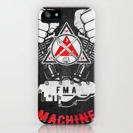 FMA Machine - Kali Eskrima Arnis - Filipino martial arts iPhone Case