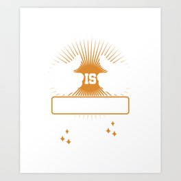 21 st Birthday Celebration Gift For Men Born In 1999 This Guy Is Officially 21 Party Birth Art Print