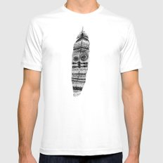 A long time ago I used to be an Indian White MEDIUM Mens Fitted Tee