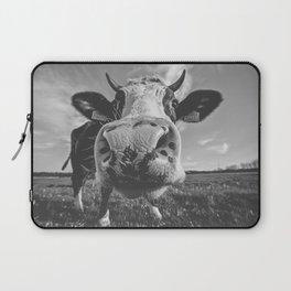 Inquisitive Cow Laptop Sleeve