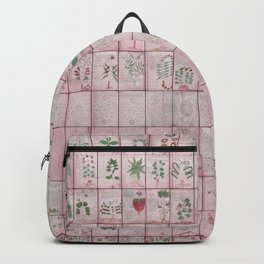 The Complete Voynich Manuscript - Red Tint Backpack