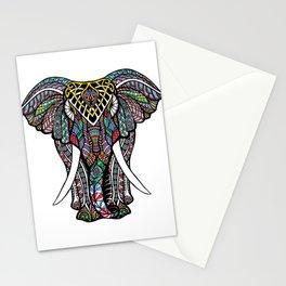 Mandala Ganesha African Elephant   Stationery Cards