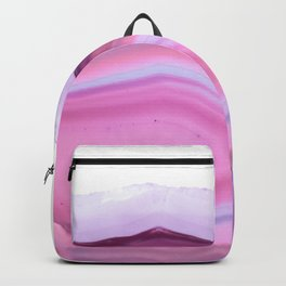 Pink Shadows Agate Backpack