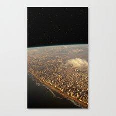 Earth Space Canvas Print