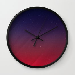 Get your Happy On | Abstract Wall Clock
