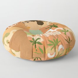Freedom in Morocco Floor Pillow