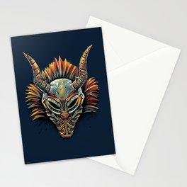 Killmonger Tribal Mask Stationery Cards