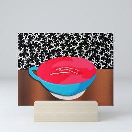 Vagina Latte Mini Art Print