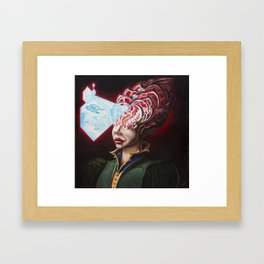 """Miss Pinealia Glandis"" Framed Art Print"