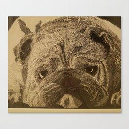 Sir Pups-a-lot Canvas Print