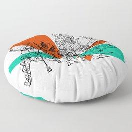 Adjacent Fourmula Floor Pillow