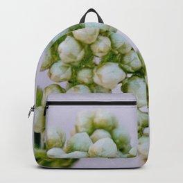 little white flowers Backpack
