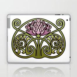 Nouveau Thistle Laptop & iPad Skin