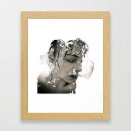 Hazey Nights Framed Art Print