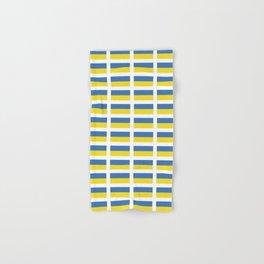 Flag of Ukraine -Ukrainian,Україна, Ucrania,kiev,sevastopol Hand & Bath Towel