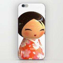 Kokeshi 07 iPhone Skin