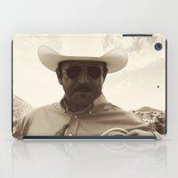 cowboy bebop iPad Cases featuring Cowboy by DistinctyDesign