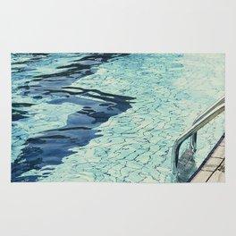 Summertime swimming Rug