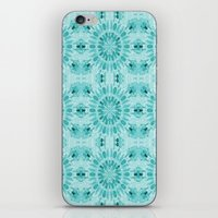 teal iPhone & iPod Skins featuring Teal by lillianhibiscus