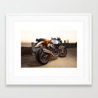 ducati Framed Art Prints featuring Ducati 004 by Austin Winchell