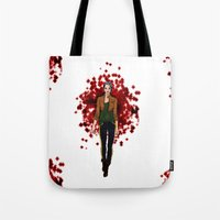 rogue Tote Bags featuring Rogue by DiegoC