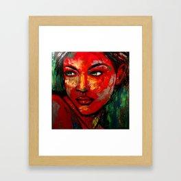 Reticence Framed Art Print