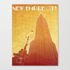 New Empire City Canvas Print