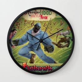 DRACULA VS. ROBIN HOOD VS. JEKYLL & HYDE! Wall Clock