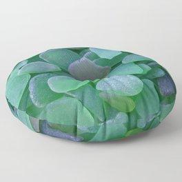 OCEAN LOVE SEA GLASS  Floor Pillow