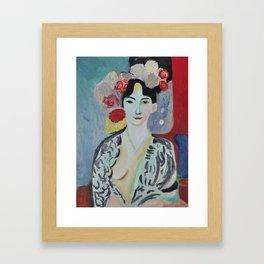 Tribute to Matisse Framed Art Print