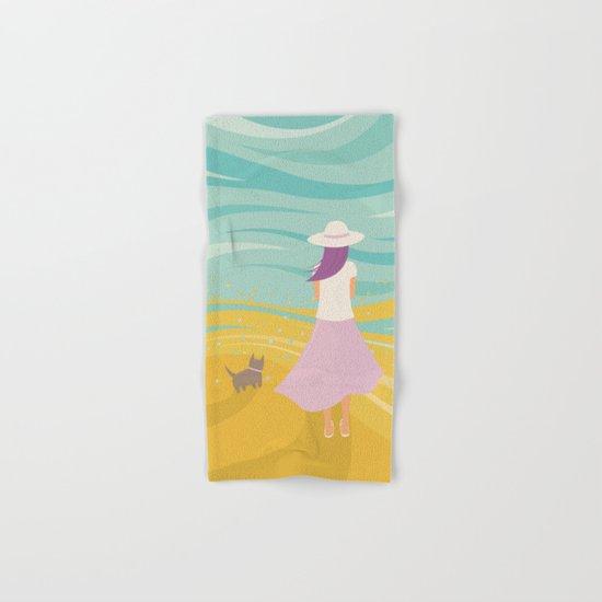 Listen to the Ocean Hand & Bath Towel