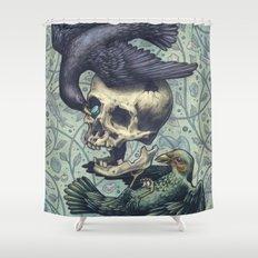 Bowerbirds Shower Curtain