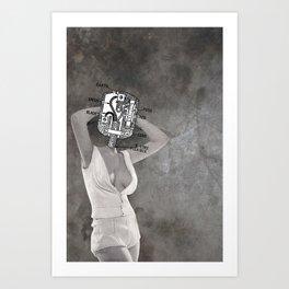 Plugged In Art Print