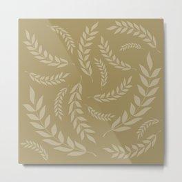 leafs Metal Print