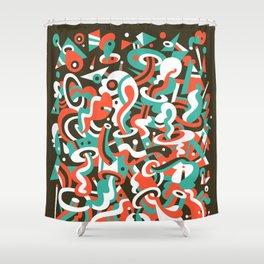 Schema 8 Shower Curtain