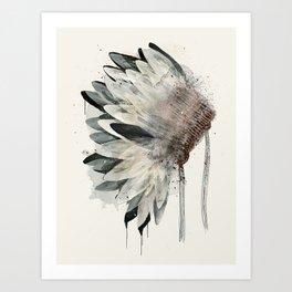 Headdress Art Print